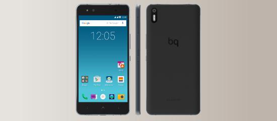 El BQ Aquaris X5 Cyanogen en negro