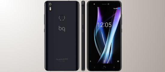 Aquaris X pro in black
