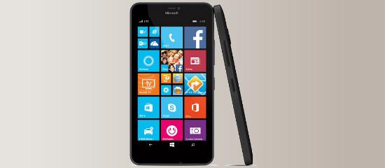 El Lumia 640 XL en negro