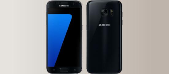 El Samsung Galaxy S7 en negro