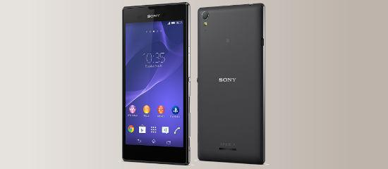 El Xperia T3 in black